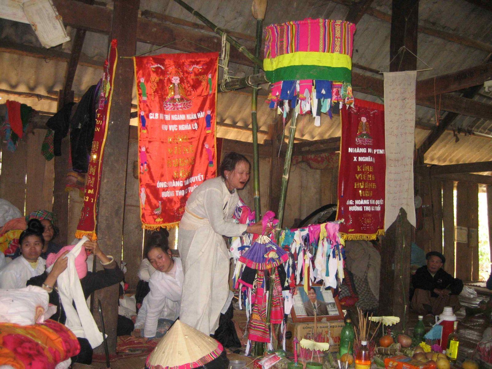Lễ tiễn hồn của người Thái Đen