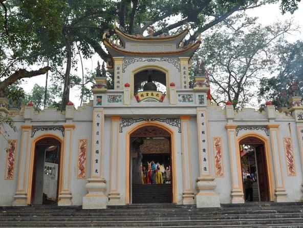 Tam quan đền Bắc Lệ