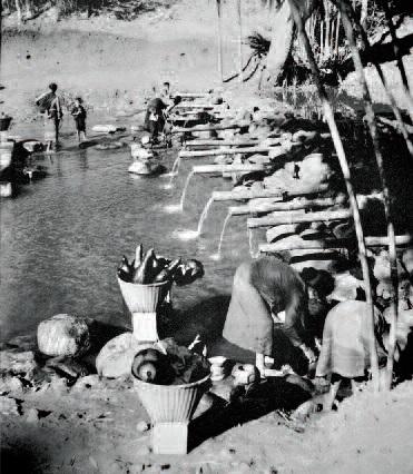 Máng nước của người Ê Đê