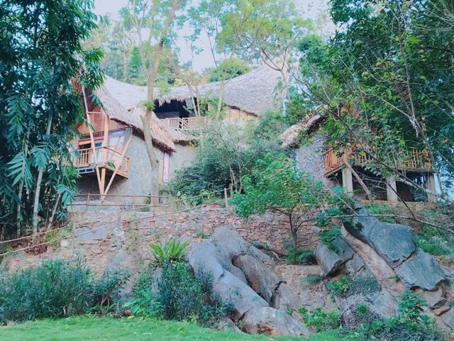 Không gian sống xanh ở Mocchau Retreat