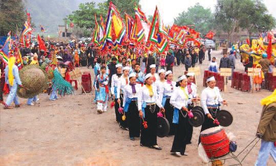 Lễ hội của người Mường theo lịch Đoi