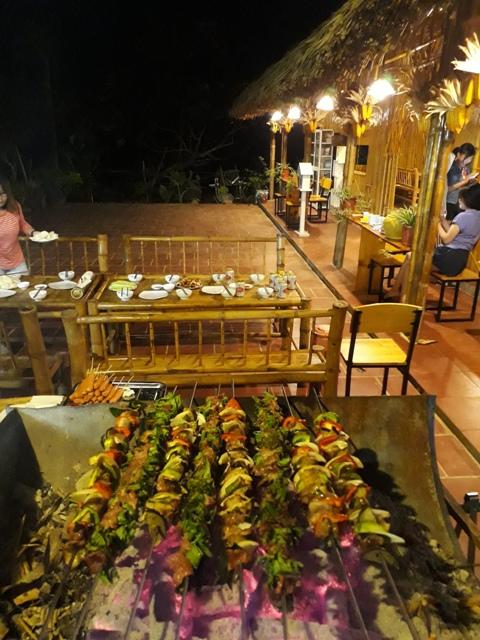 Những món ăn tươi ngon mời khách