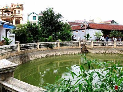 Giếng đất ở xã Song Phượng, huyện Đan Phượng, Hà