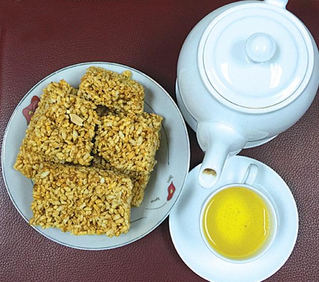 Khẩu sli, món bánh bỏng đặc biệt của người Nùng