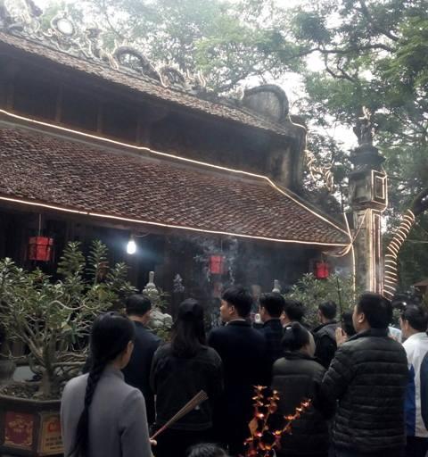 Toàn cảnh đền Cao An Lạc