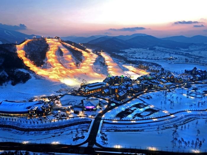 Alpensia Ski Resort - một trong 7  khu trượt tuyết hiện đại và nổi tiếng nhất Hàn Quốc