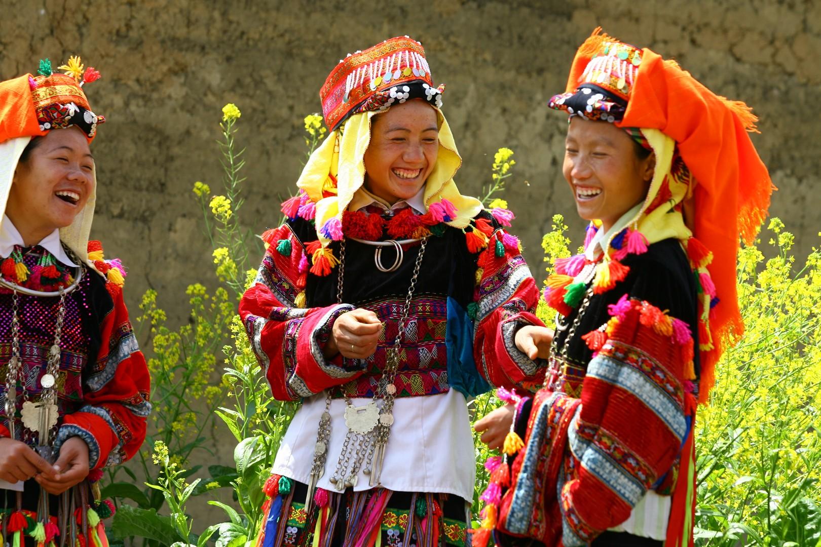 Lolo Bariolés à Ha Giang