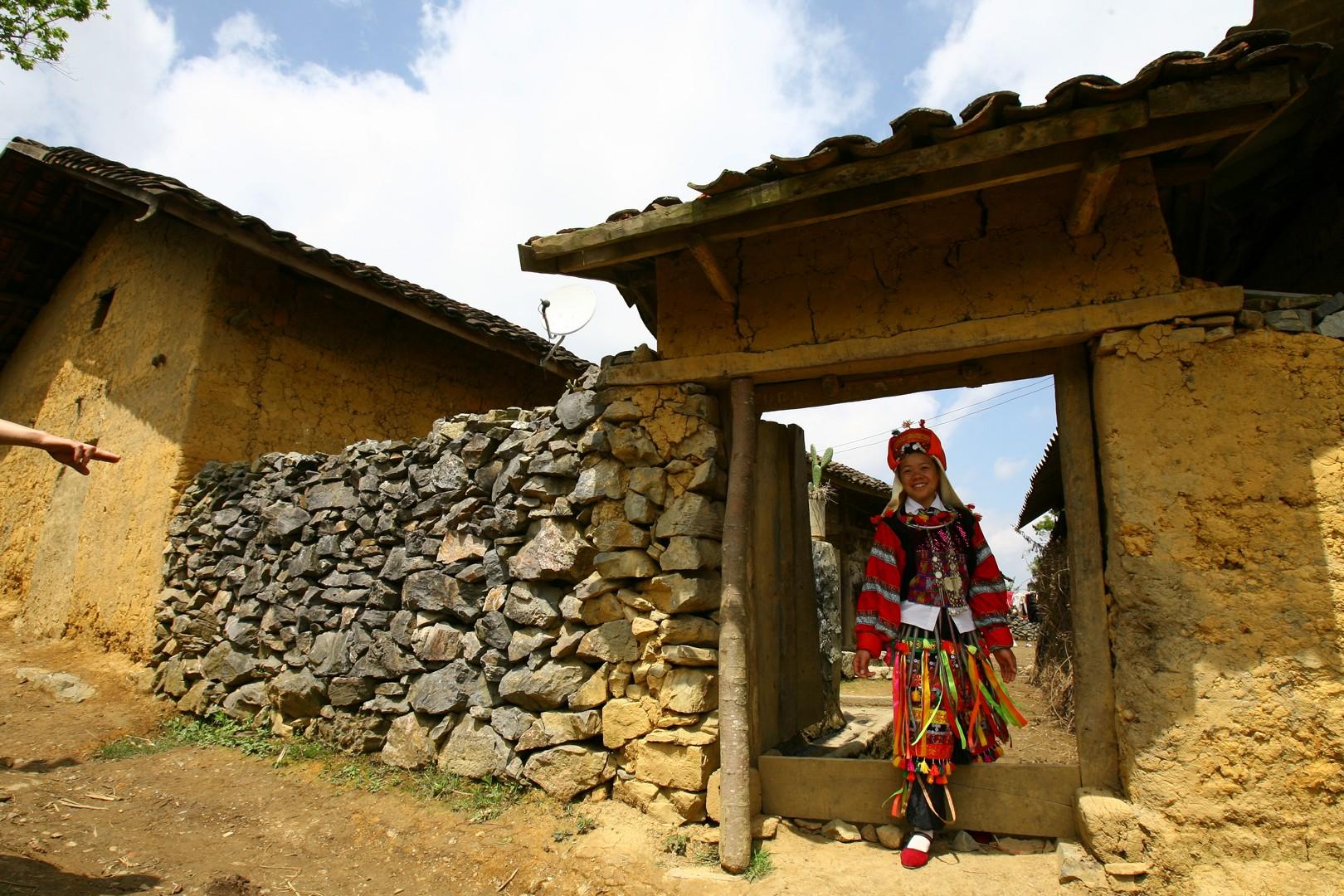 La maison des Lolo a Ha Giang